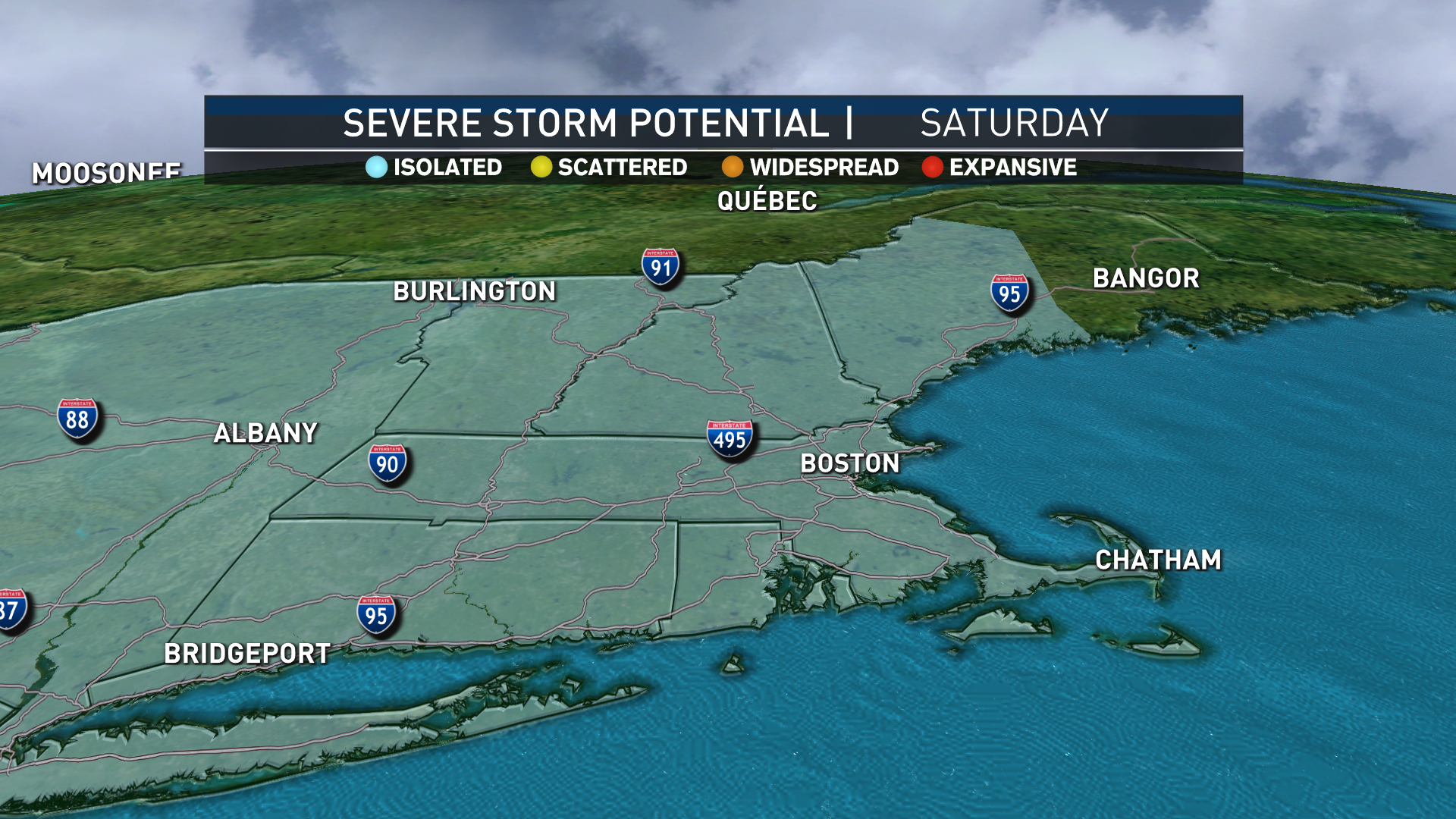 Tomorrow's Severe Thunderstorm Potential