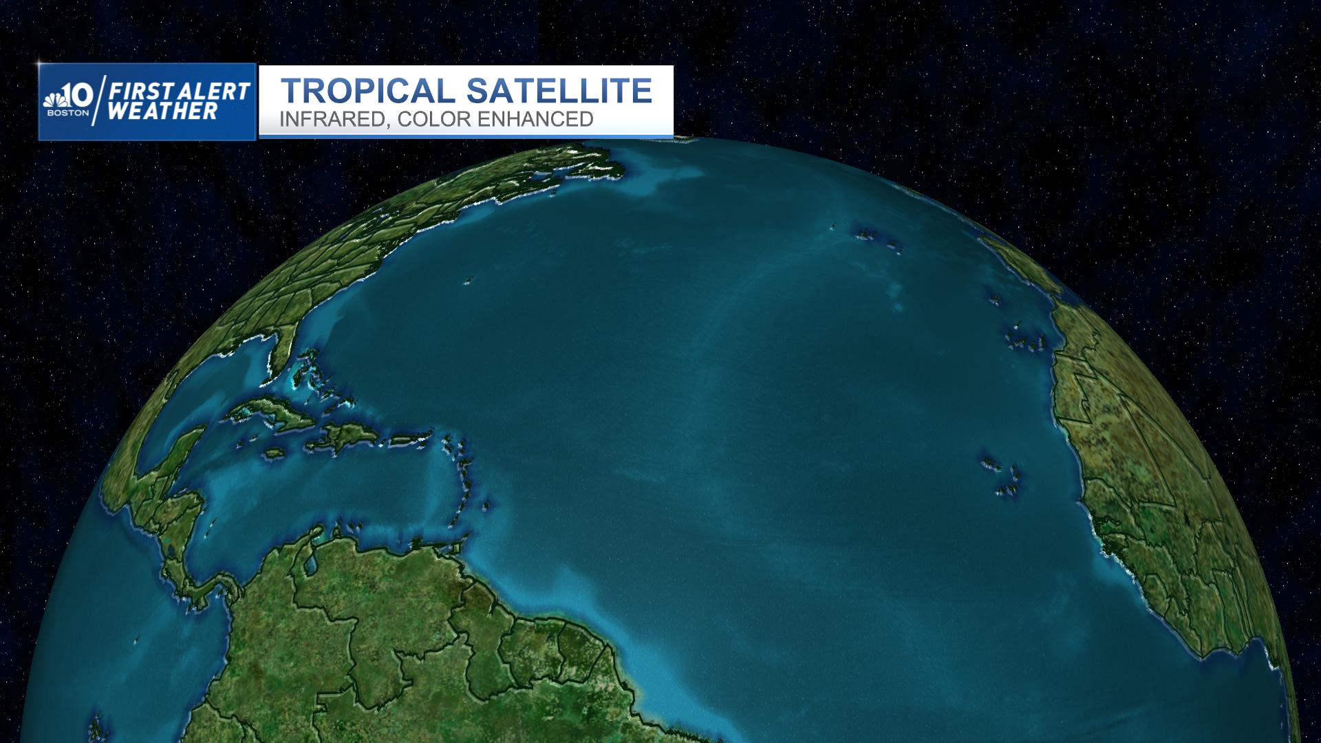 Latest Tropical Atlantic Satellite
